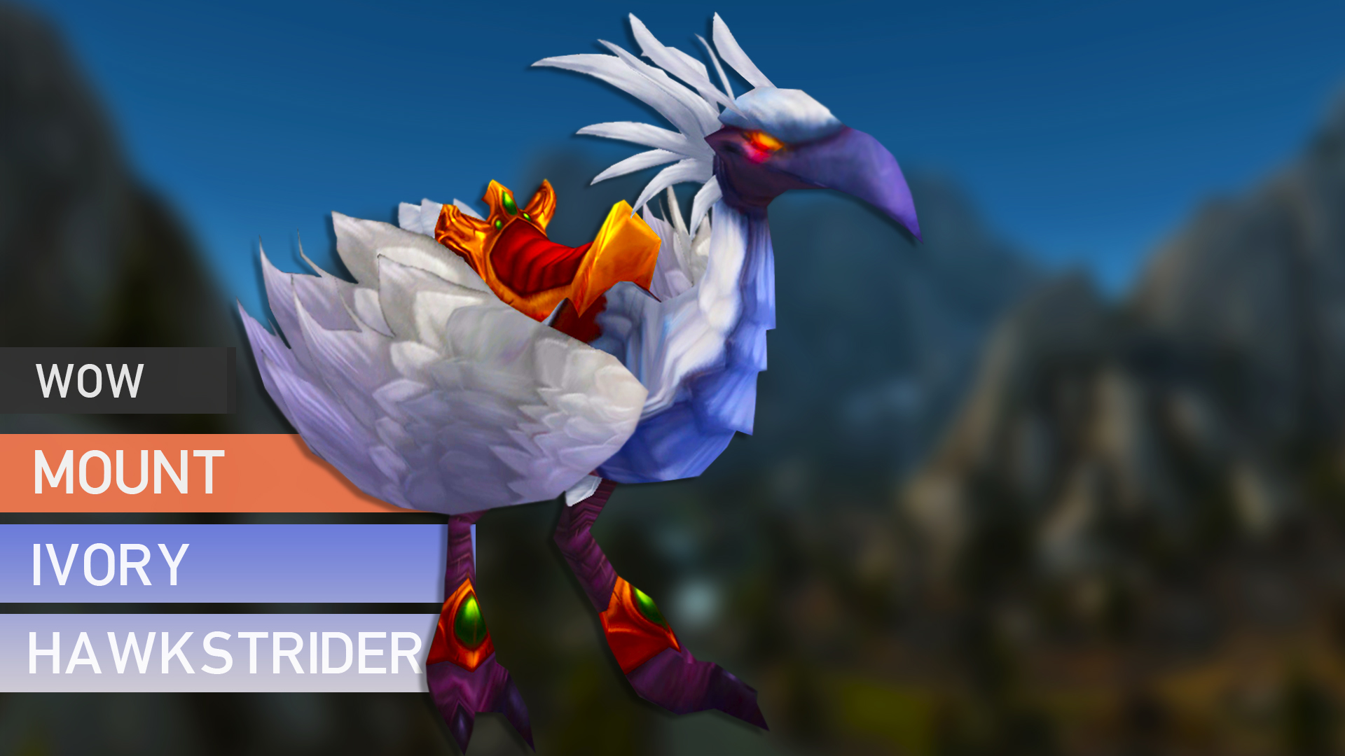 Ivory Hawkstrider Mount GBD - e2p.com