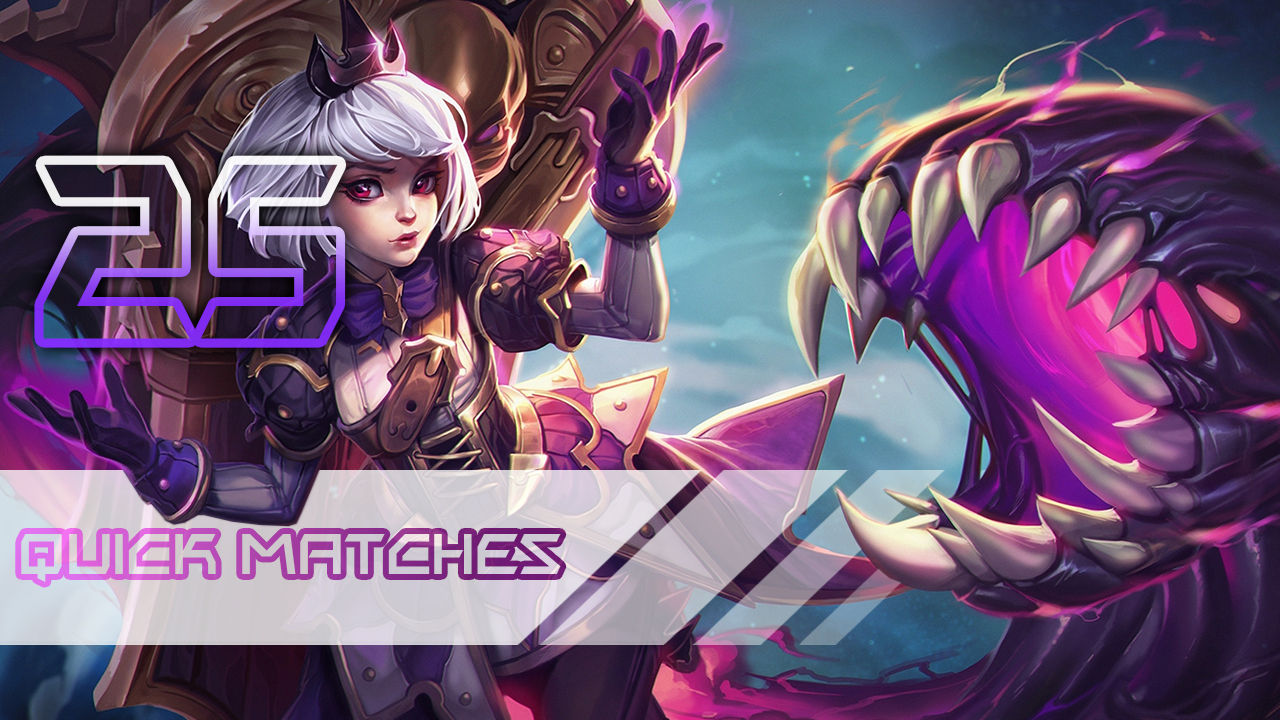 Heroes of the Storm: Quick Matches 25 games