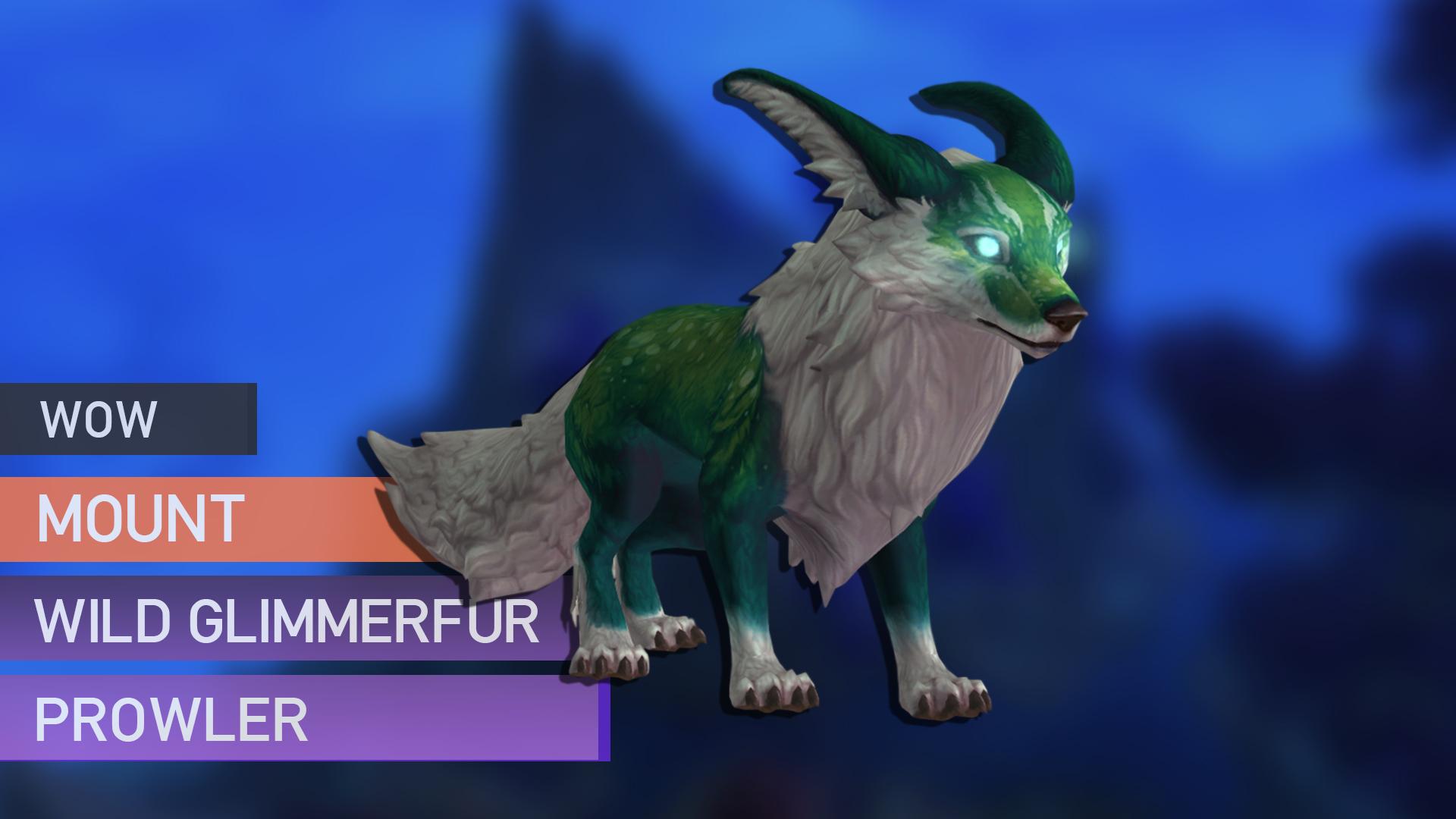 Wild Glimmerfur Prowler mount Sedovlasiy - e2p.com