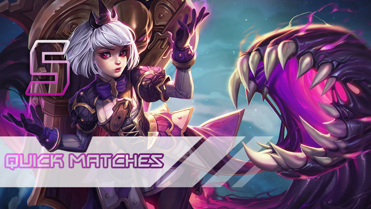 Heroes of the Storm: Quick Matches 5 games