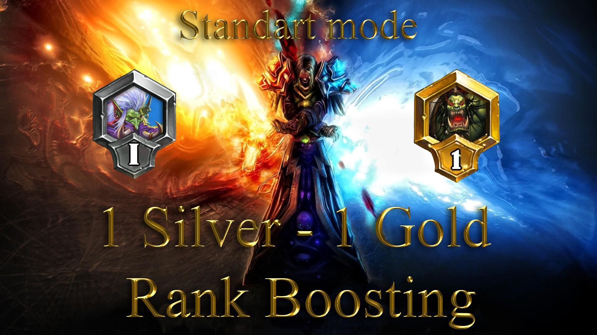 Hearthstone: 1 Rank (Silver) - 1 Rank (Gold) Standart Mode Sedovlasiy - e2p.com