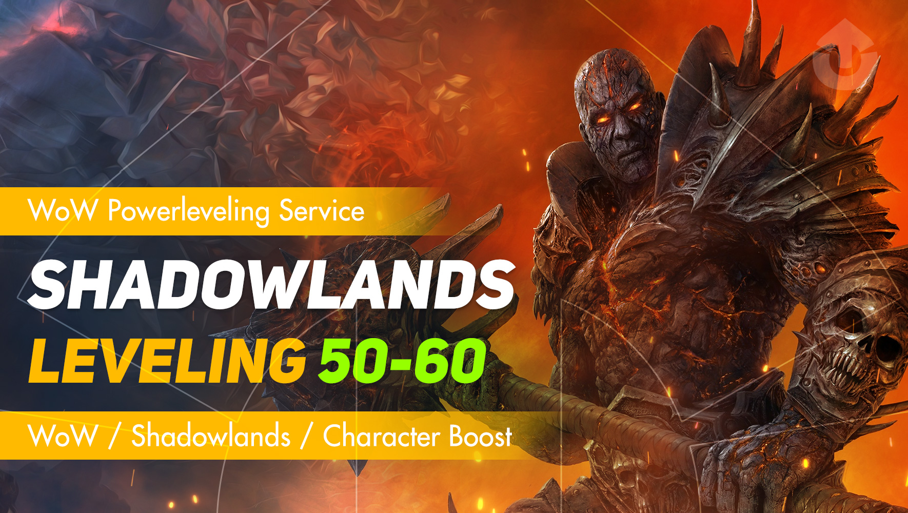 Shadowlands leveling from 50 lvl to 60 lvl GBD - e2p.com