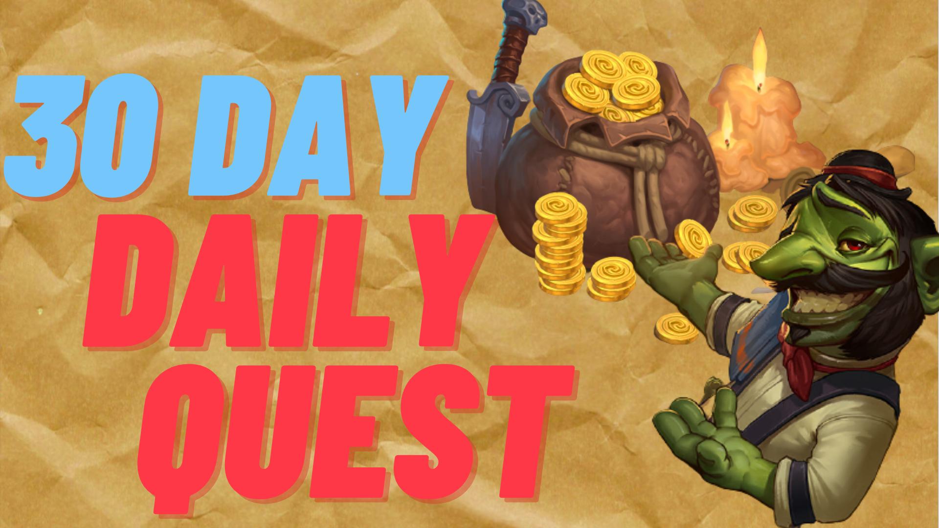 30-Day Daily Quests Zafari - e2p.com