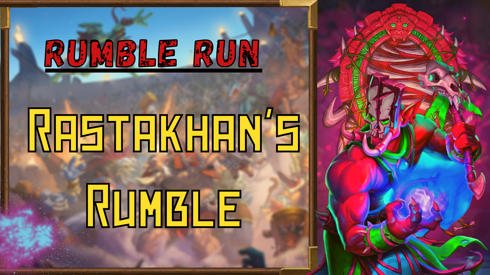 Rumble run: Rastakhan's Rumble Zafari - e2p.com