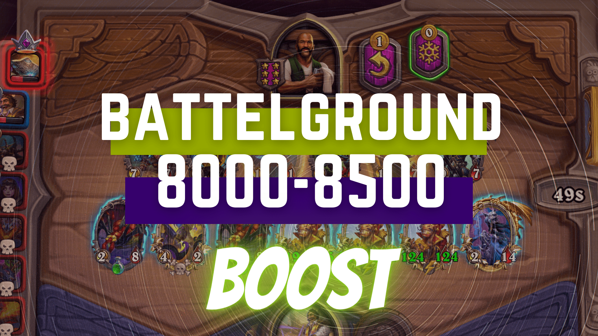 [BATTLEGROUNDS RATING] BOOST FROM 8000 TO 8500 Zafari - e2p.com