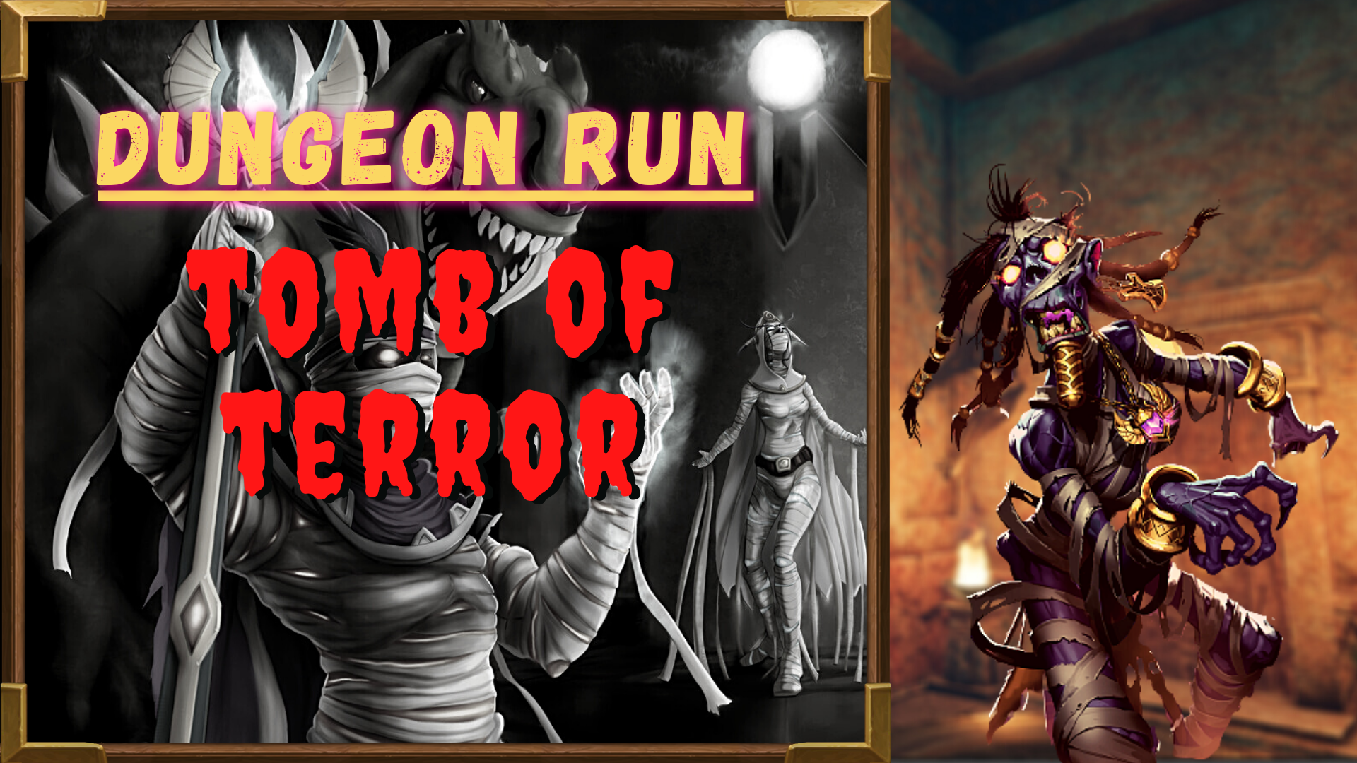 Dungeon run: Tomb of terror GBD - e2p.com