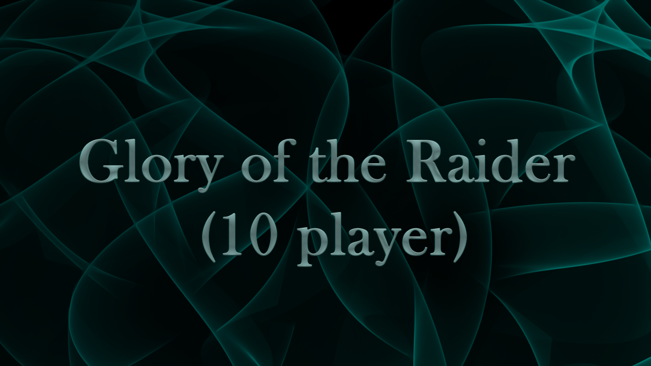 Glory of the Raider (10 player) MythicBooster - e2p.com