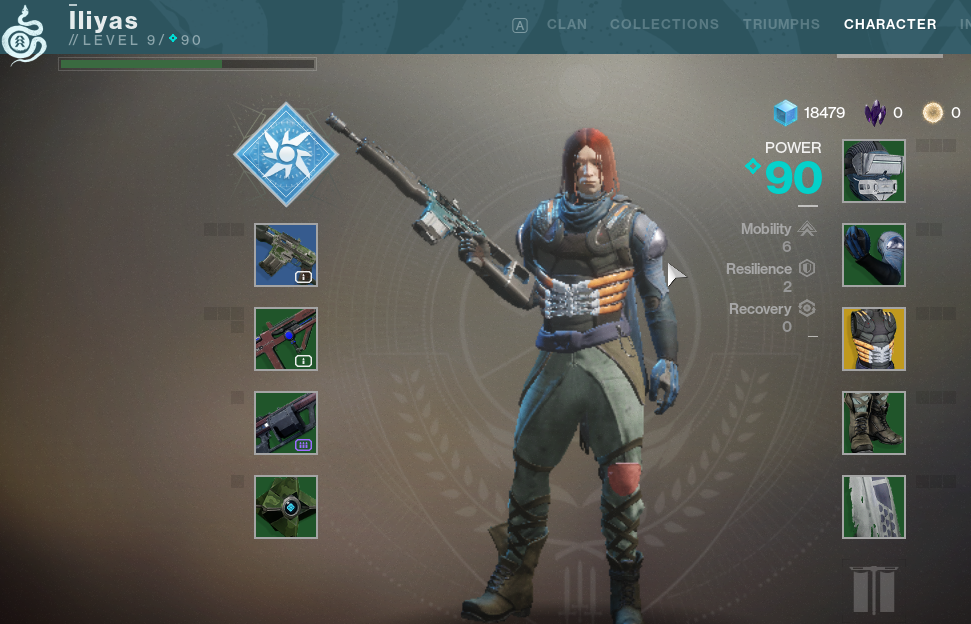 Battle.Net account Destiny 2 | Server: Global| level:9| Power:60| Glimmer:18479| Legendary Shards:0| Bright Dust:0