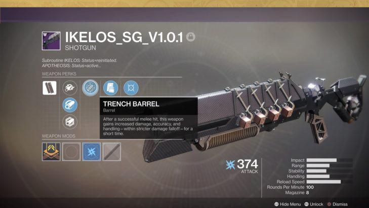 IKELOS shotgun. Fast delivery.