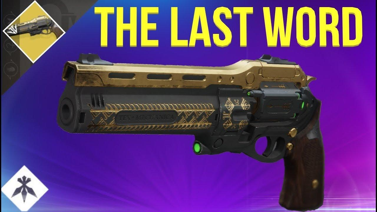 THE LAST WORD - New exotic revolver