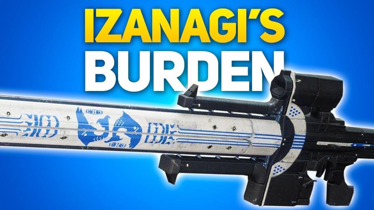 IZANAGI BURDEN - Exotic sniper riffle . LuveBlizz - e2p.com