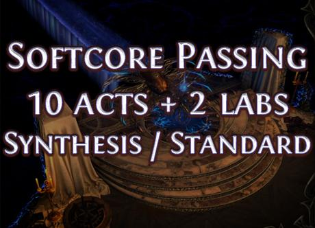 SynthesisSoftcore Passing 10 acts + 2 labs ExileHelper - e2p.com