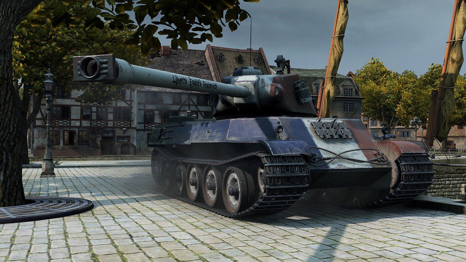 AMX M4 mle. 49 | Liberté Égalité Fraternité