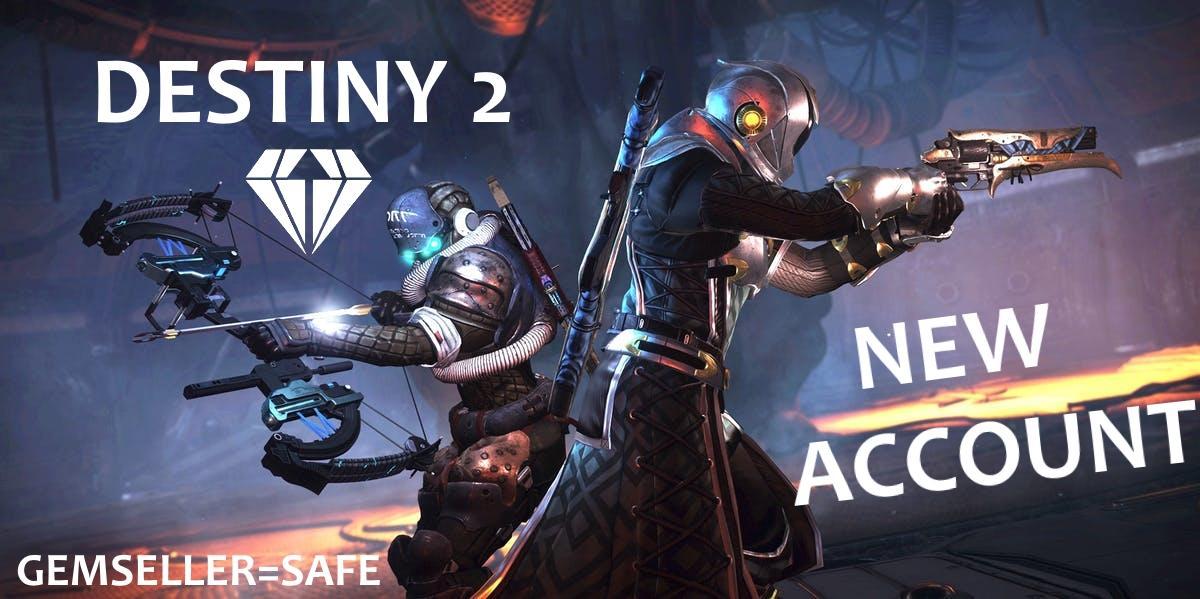 DESTINY 2 | NEW ACCOUNT #26 | SAFE | CHEAPEST | PC
