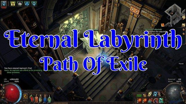 SYNTHESIS / 6 TRIALS FOR ETERNAL LABYRINTH / 100% HANDMADE ExileHelper - e2p.com