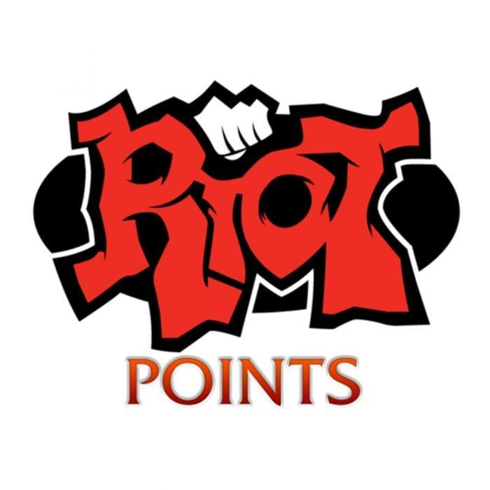 [NA] 790 Riot Points via Gifting Center