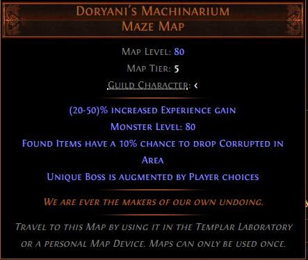 Doryani's Machinarium Maze Map Allboost - e2p.com