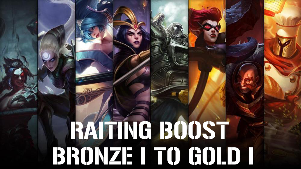 Ranked Bronze to Gold MidOrFeed - e2p.com