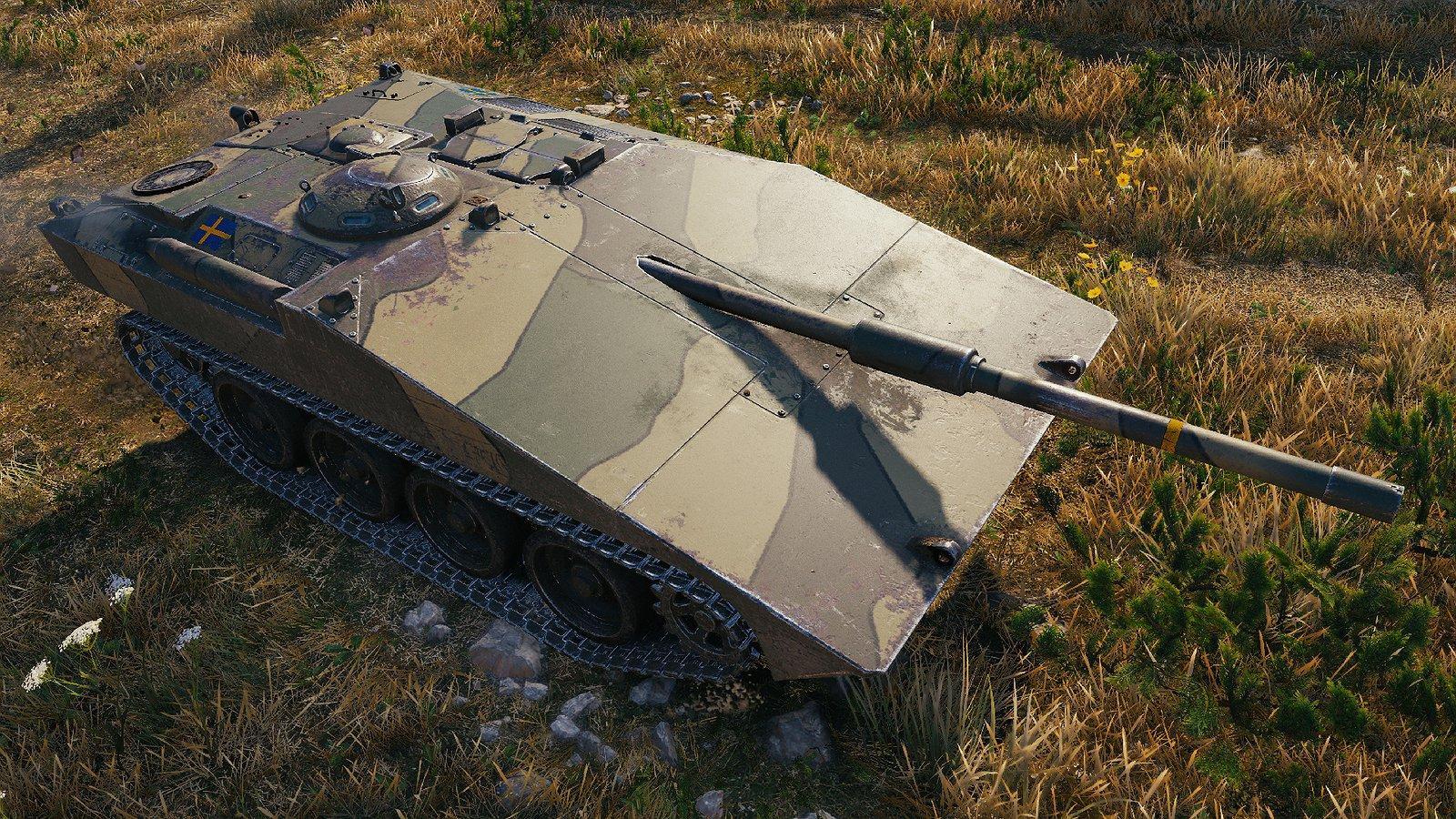 "Classic's Strv S1/S2 ""Överlevande Prototyp"" Remodel WOTHelper - e2p.com"