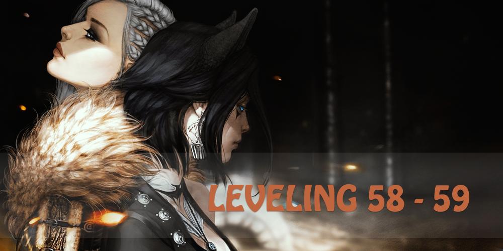 58 - 59 leveling