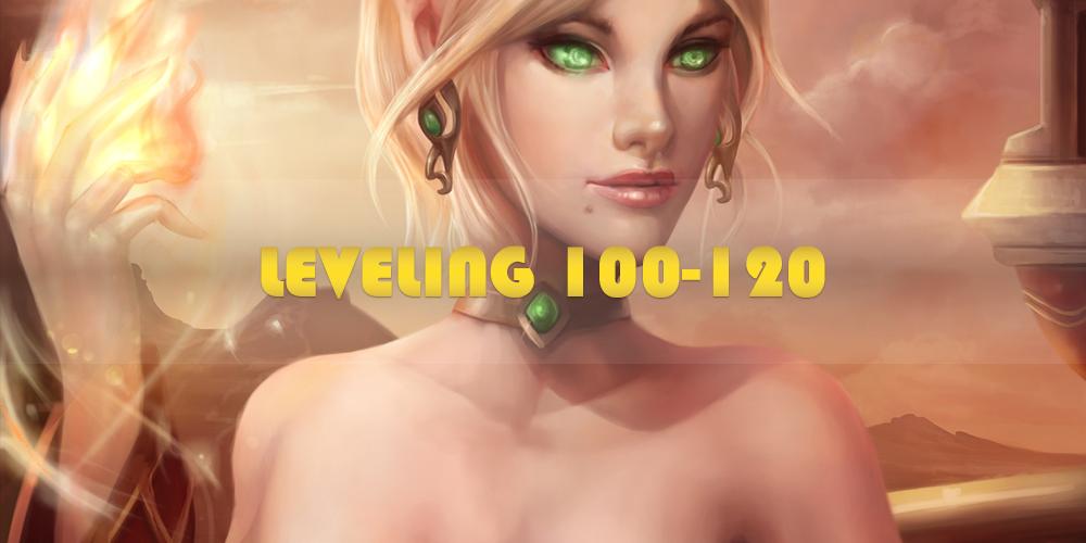 100-120 LVL UP
