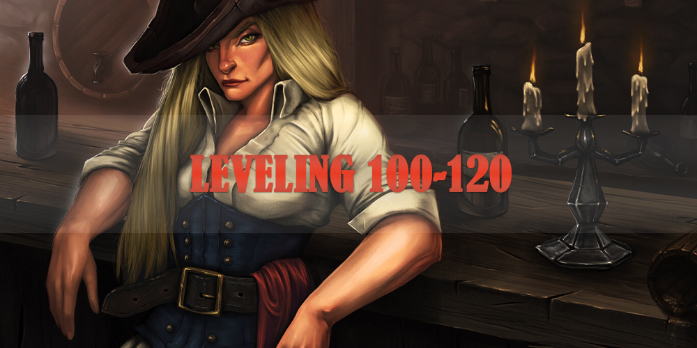 100-120  leveling character