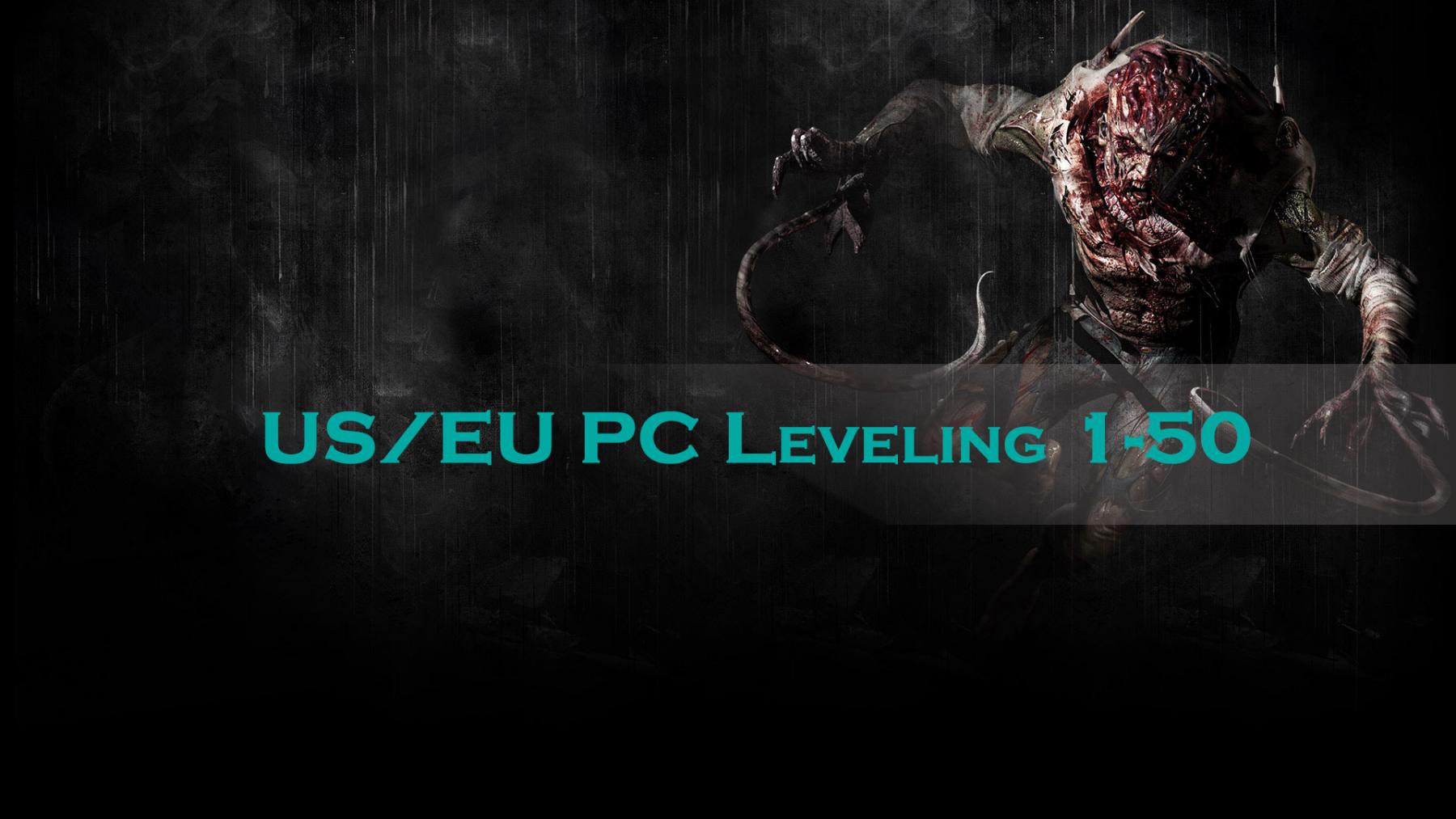 US/EU PC Leveling 1-50
