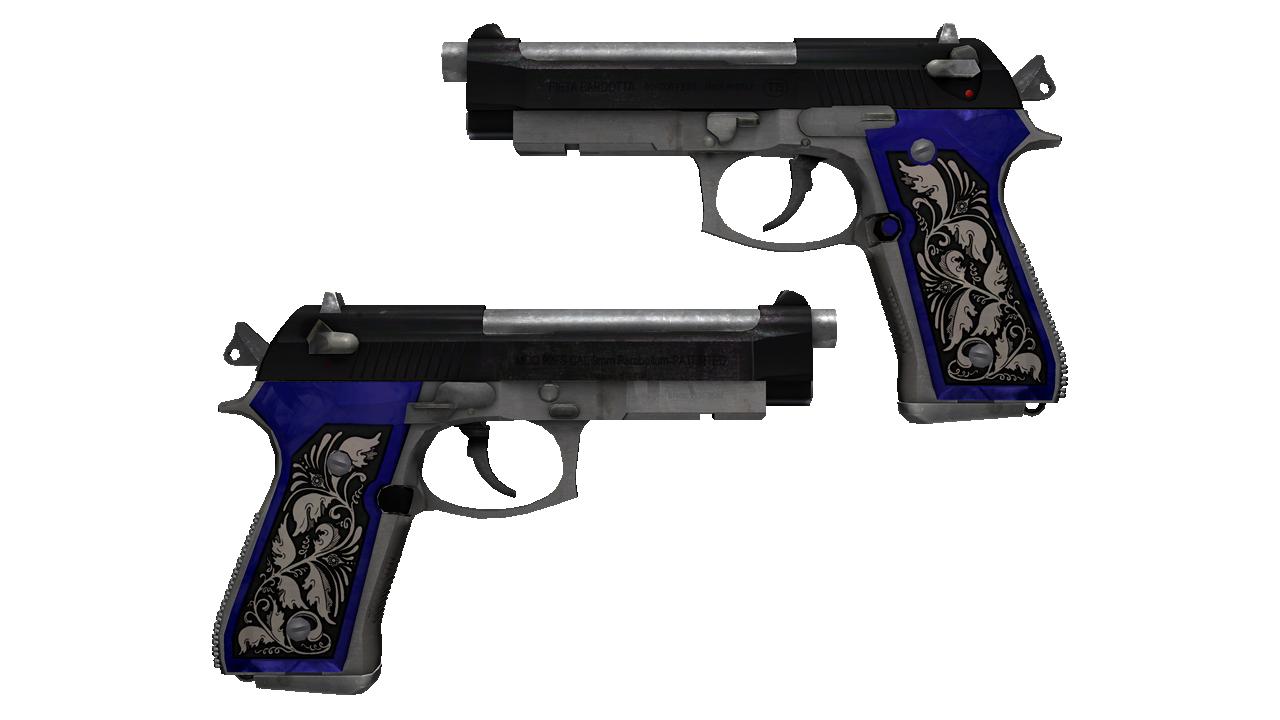 Dual Berettas | Duelist (Battle-Scarred) SalmonHunter - e2p.com