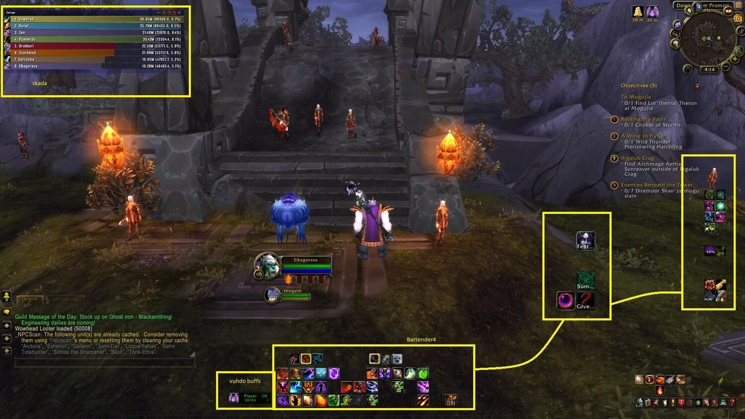 Best addons for WoW | More than 10 | Cheap - Buy & Sell