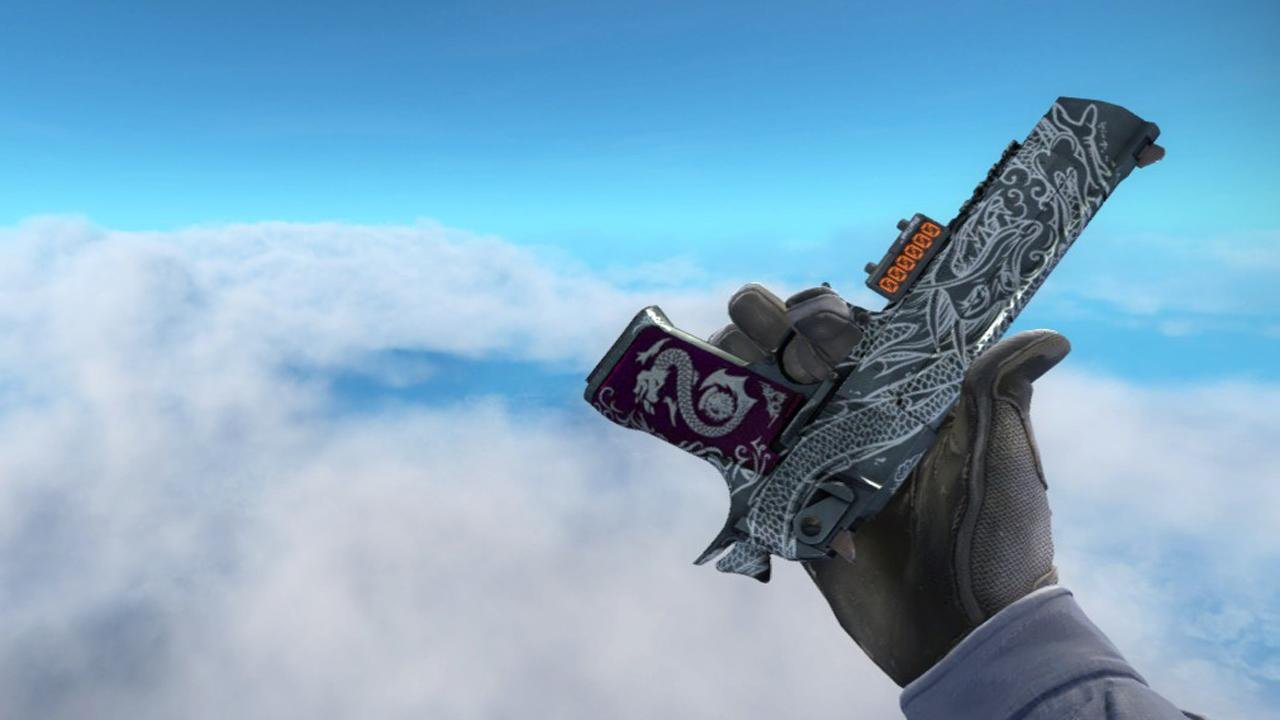 StatTrak™ Desert Eagle | Kumicho Dragon (Well-Worn) SalmonHunter - e2p.com
