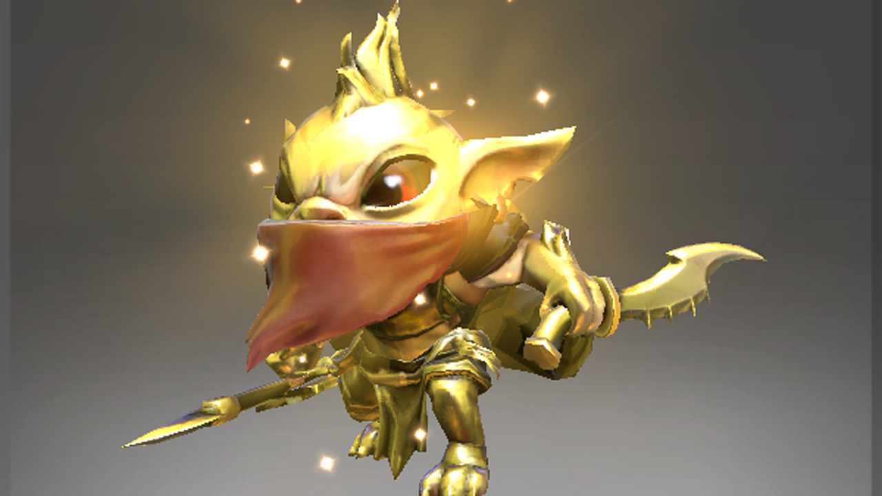 Inscribed Golden Huntling