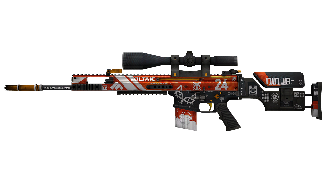 SCAR-20 | Bloodsport (Factory New) SalmonHunter - e2p.com