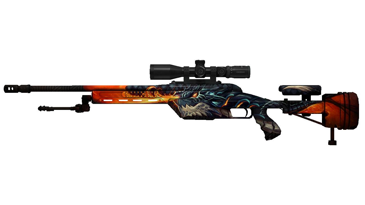 SSG 08 | Dragonfire (Field-Tested) SalmonHunter - e2p.com