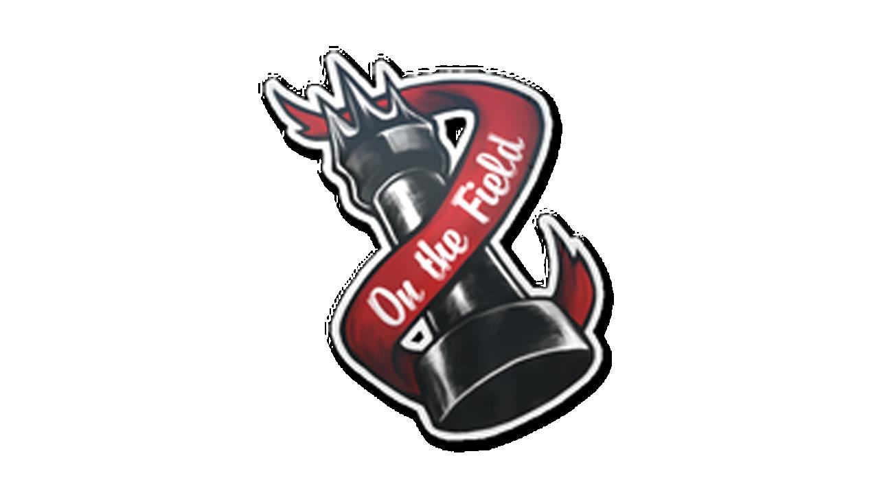 Наклейка   Король поля SalmonHunter - e2p.com
