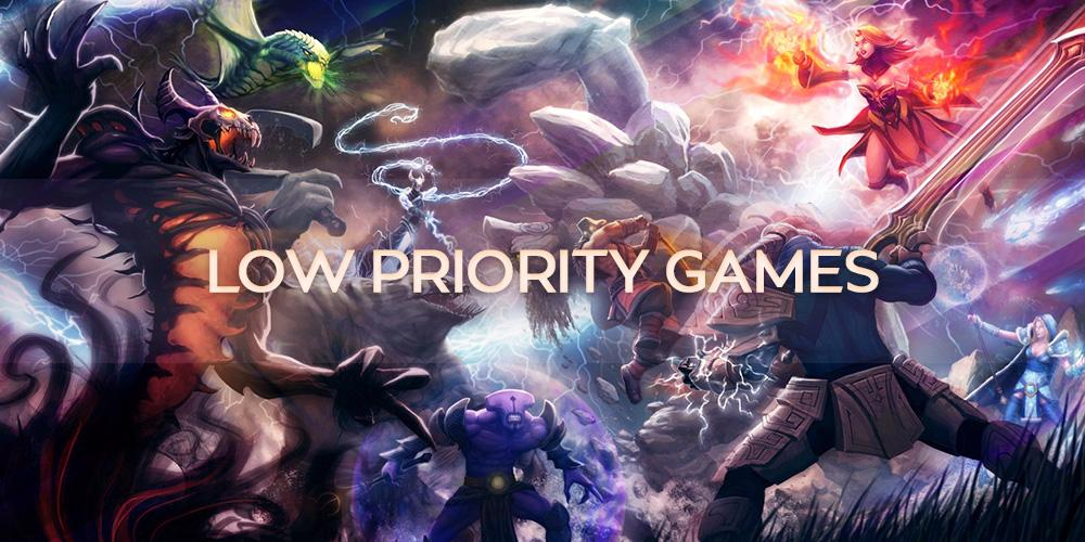 Low Priority Games (3 wins) thesupamida - e2p.com