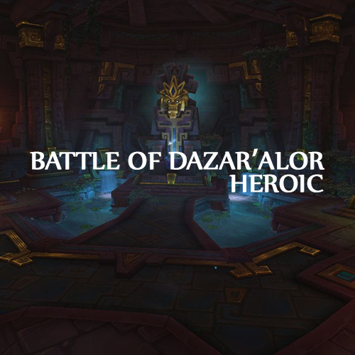 | New Raid | Battle of Dazar'Alor | raid Full gear 400 |