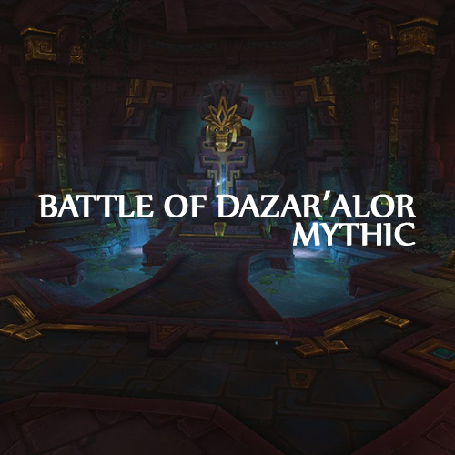 | Battle of Dazar'Alor | Mythic Run | Epic Full Gear | 415+ ilvl |