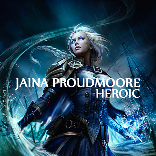 | Lady Jaina Proudmoore HEROIC Kill |  loot 400+ gear |