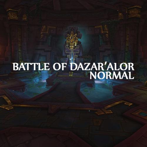 |        New Raid         | Battle of Dazar'Alor | Normal run | MythicBooster - e2p.com