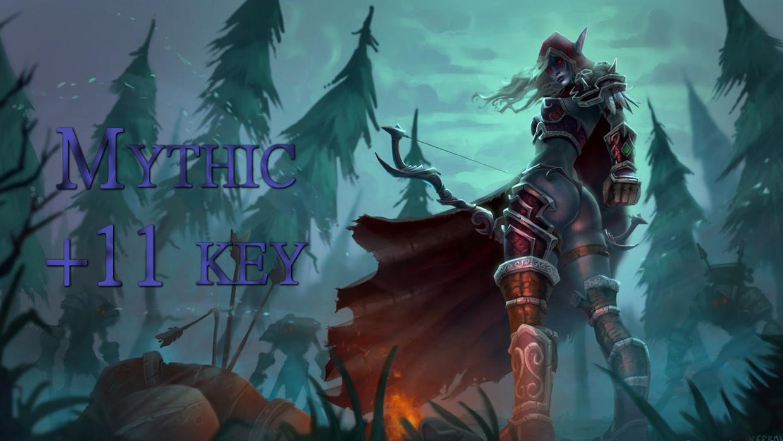 Mythic +11 key GBD - e2p.com