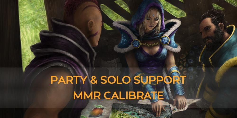 SOLO + PARTY MMR CALIBRATE Support (10 GAMES) thesupamida - e2p.com