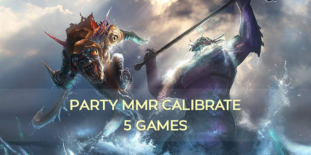 Party MMR Calibrate