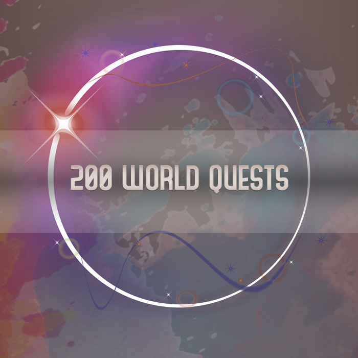 200 World Quests BFA