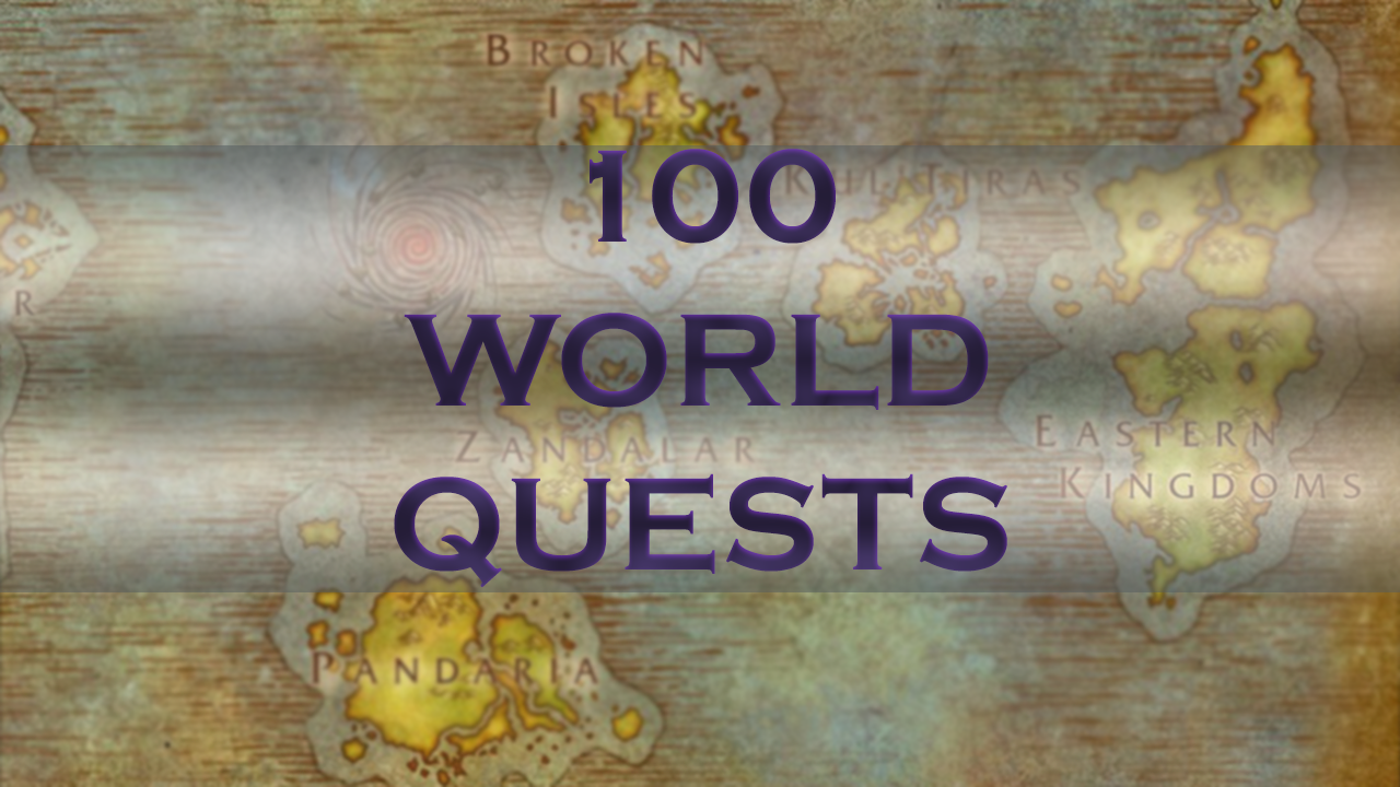 100 World Quests MythicBooster - e2p.com