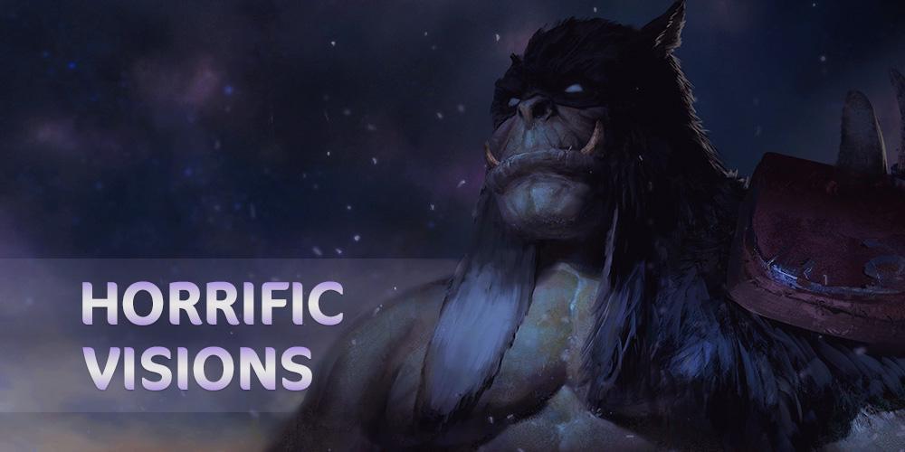 Horrific Visions Challenge (5 masks) GBD - e2p.com