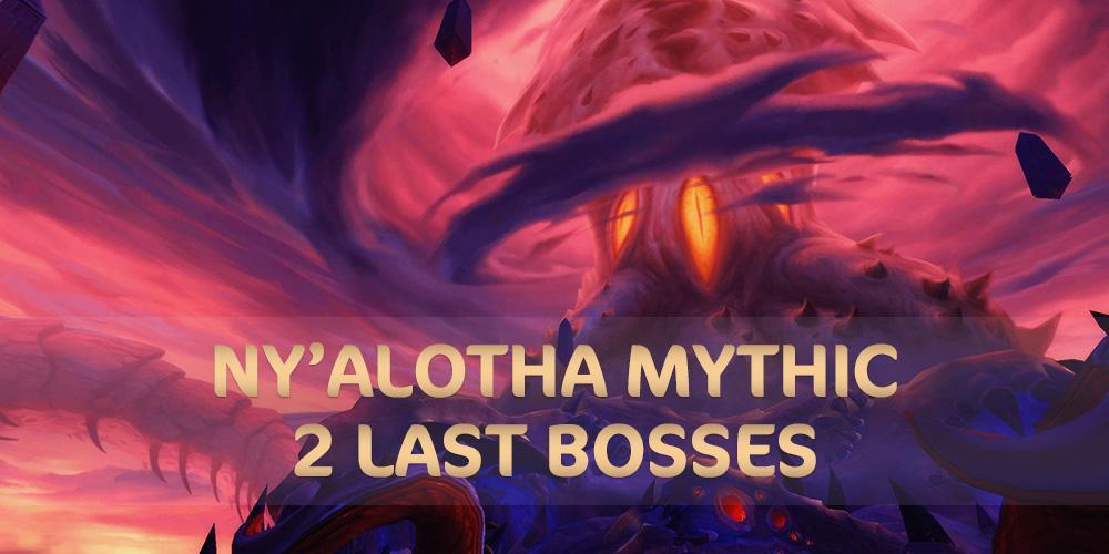 Ny'alotha Mythic 2 last bosses kills SuperBooster - e2p.com