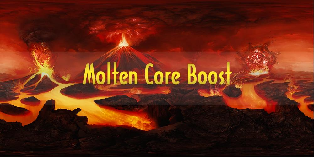 Molten Core raid boost GBD - e2p.com