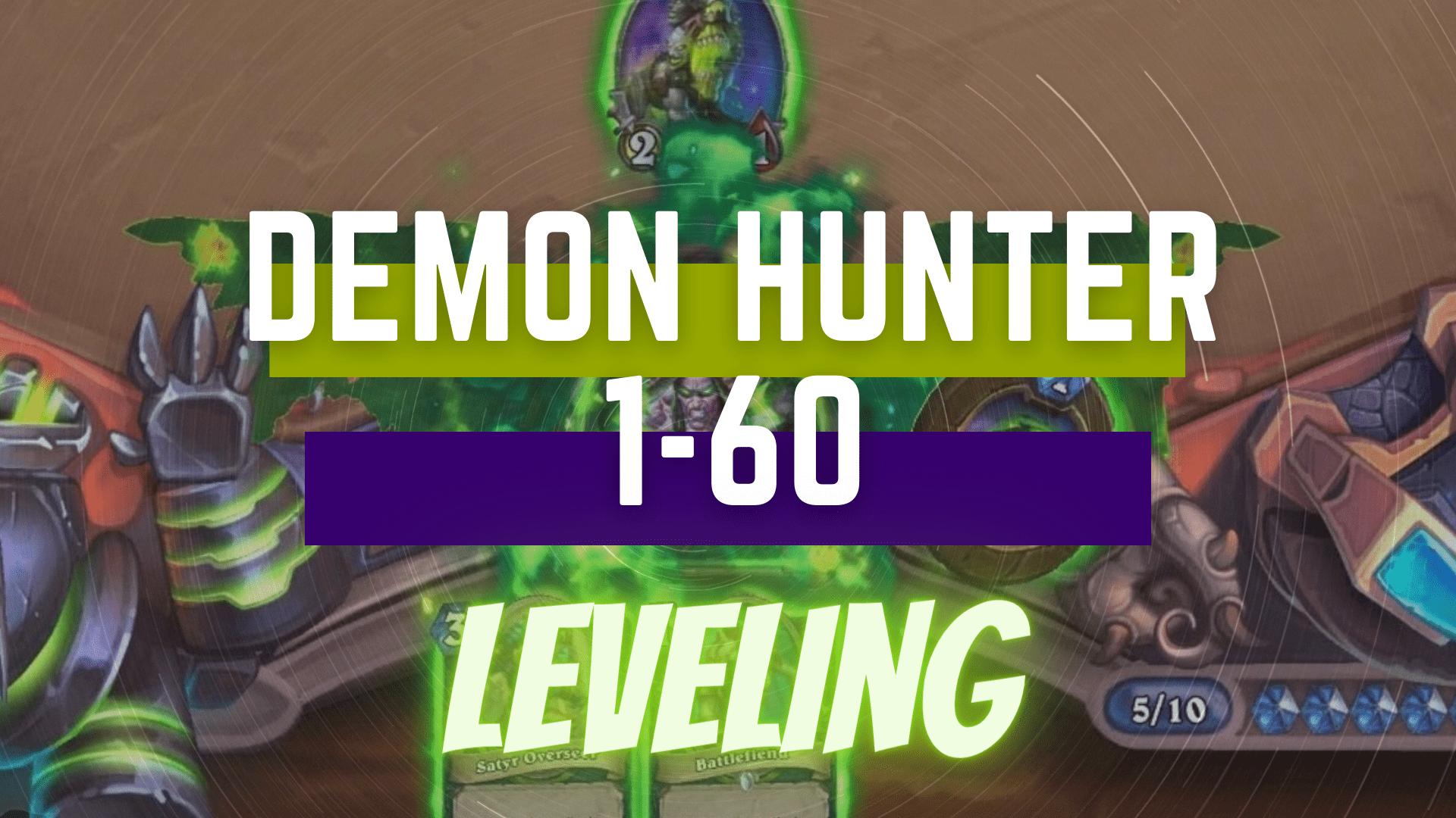 Demon Hunter 1-60 Leveling GBD - e2p.com