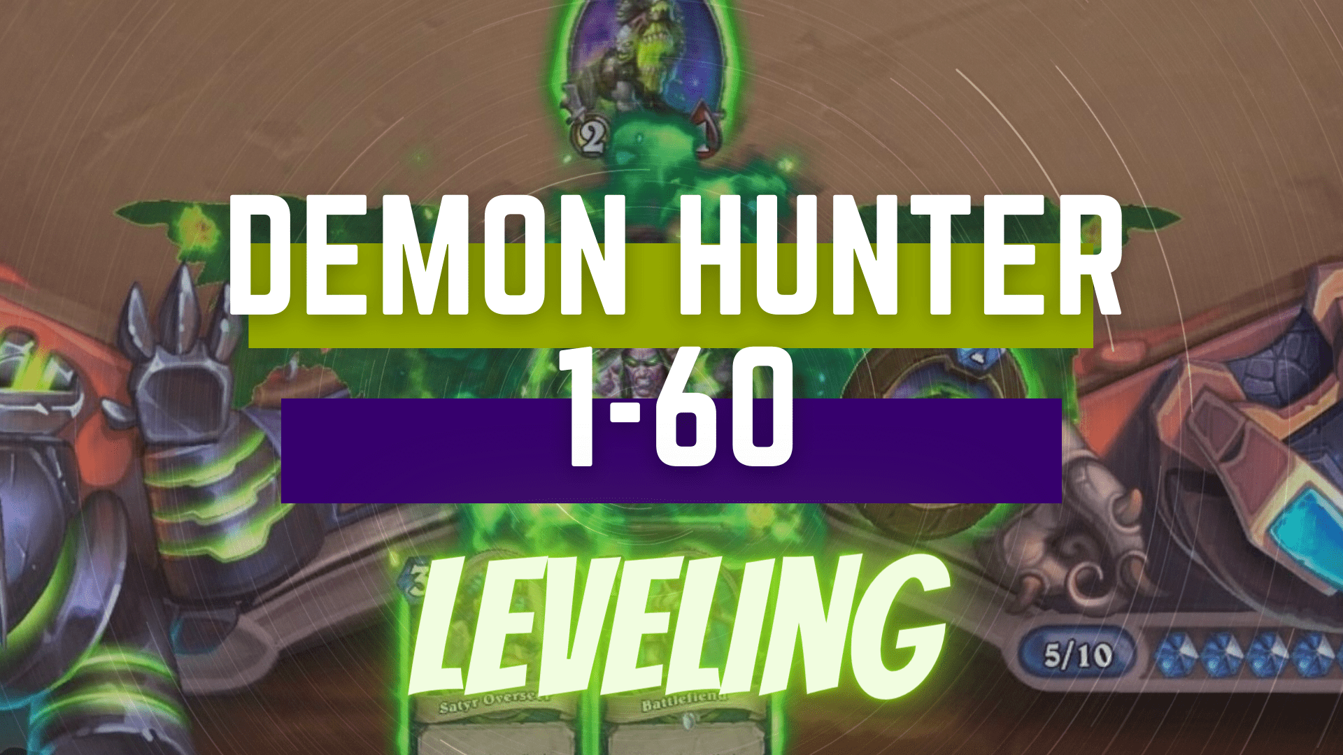 Demon Hunter 1-60 Leveling Zafari - e2p.com