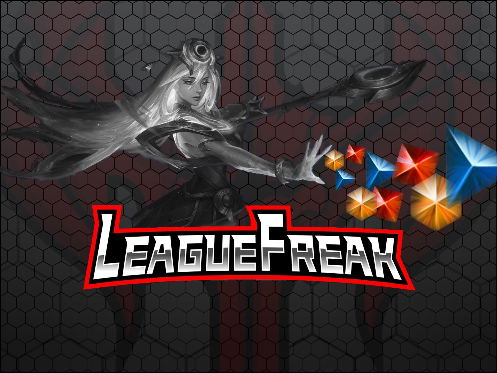 CHAMPION SKIN[EUW,EUNE] LeagueFreak - e2p.com